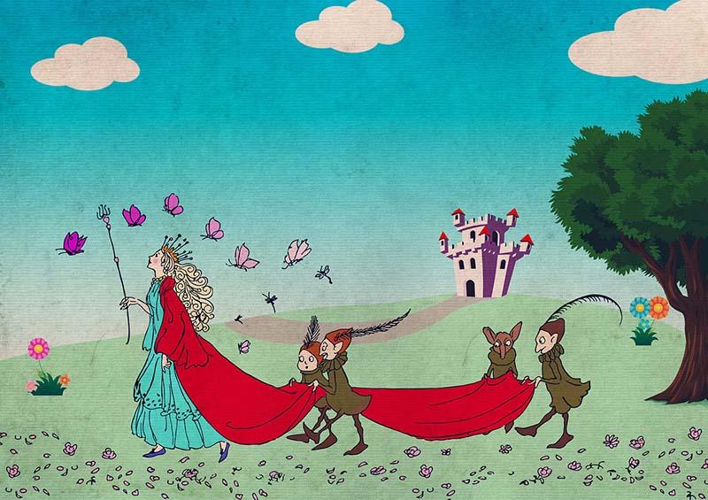 Bela Menina, conto infantil por Adolfo Coelho, escritor português
