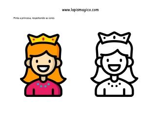 A princesa e a ervilha, ficha pdf nº1